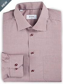 Eton® Mini Check Dress Shirt