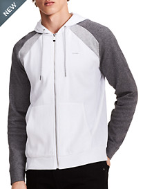 Calvin Klein® Sport Colorblock Full-Zip Hoodie
