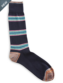 Robert Graham® Sawteeth Printed Socks