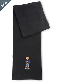 Polo Ralph Lauren® American Flag Bear Scarf