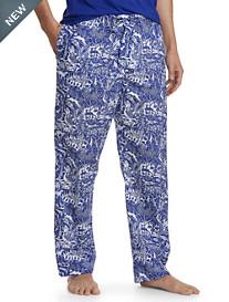 Derek Rose™ Animal-Print Woven Lounge Pants