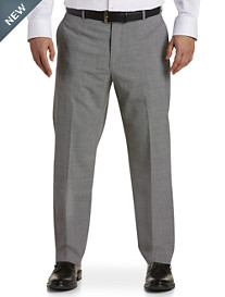 Ballin® Comfort-EZE Houndstooth Flat-Front Dress Pants