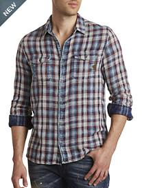 Buffalo David Bitton® Sabera Plaid Sport Shirt