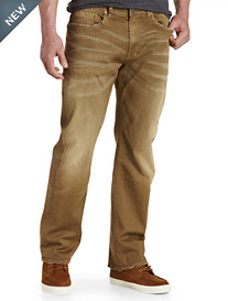 Buffalo David Bitton® Pyro Stretch Denim Jeans – Tan Wash
