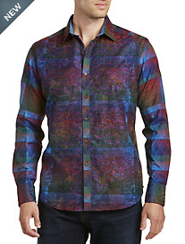 Robert Graham® Limited Edition Doctor Multi-Print Sport Shirt