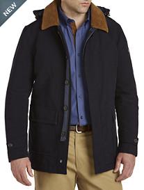Paul & Shark® Insulated Hooded Jacket