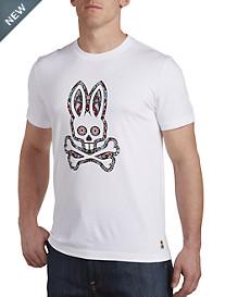 Psycho Bunny® Mardi Gras Bunny Graphic Tee