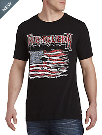 True Religion® Land of the Free Tee