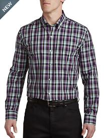 Cutter & Buck™ Non-Iron Sawyer Plaid Sport Shirt