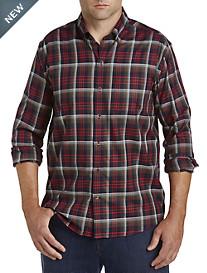 Cutter & Buck® Non-Iron Dry Creek Plaid Sport Shirt