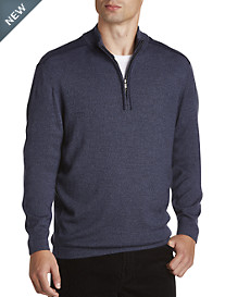 Cutter & Buck® Henry Half-Zip Sweater