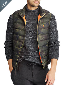 Polo Ralph Lauren® Packable Camo Down Vest