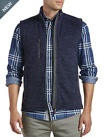 johnnie-O® Tahoe Two-Way Zip-Front Fleece Vest