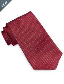 Robert Talbott Geo Crosshatch Neat Silk Tie