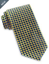 Robert Talbott Best of Class Abstract Medium Repeating Dot Silk Tie