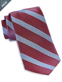 Robert Talbott Best of Class Medium Textured Stripe Silk Tie