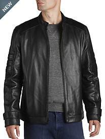 Marc New York Andrew Marc Moto Leather Jacket