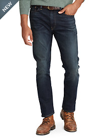 Polo Ralph Lauren® Hampton Relaxed Straight Fit Lightweight Murphy Wash Jeans