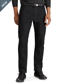 Polo Ralph Lauren® Prospect Straight-Fit Stretch Harris Black Wash Jeans