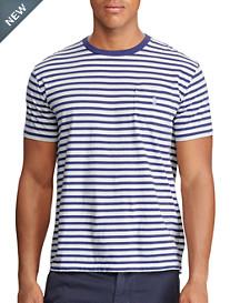 Polo Ralph Lauren® Classic Fit Stripe Cotton T-Shirt