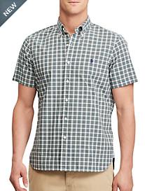 Polo Ralph Lauren® Classic Fit Plaid Poplin Sport Shirt