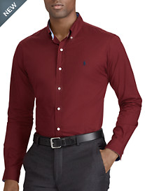 Polo Ralph Lauren® Classic Fit Solid Stretch Poplin Sport Shirt