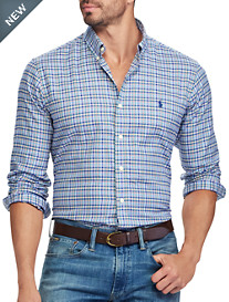 Polo Ralph Lauren® Classic Fit Plaid Twill Sport Shirt