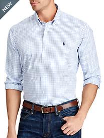 Polo Ralph Lauren® Non-Iron Classic Fit Tattersall Poplin Sport Shirt