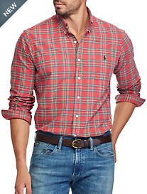 Polo Ralph Lauren® Oxford Tartan Plaid Sport Shirt