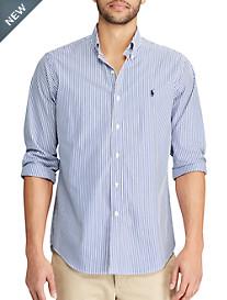 Polo Ralph Lauren® Classic Fit Stripe Stretch Poplin Sport Shirt