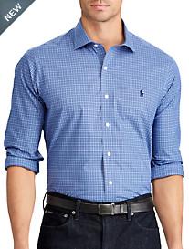 Polo Ralph Lauren® Non-Iron Classic Fit Plaid Poplin Sport Shirt