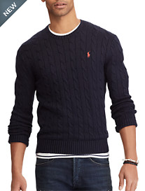 Polo Ralph Lauren® Cotton Cable Sweater