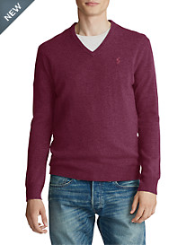 Polo Ralph Lauren® Merino Wool V-Neck Sweater