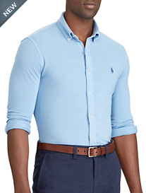 Polo Ralph Lauren® Classic Fit Cotton Mesh Sport Shirt