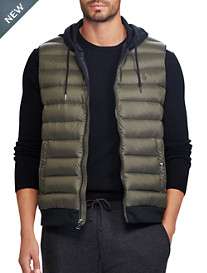 Polo Ralph Lauren® Performance Down-Panel Double-Knit Vest