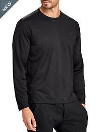 Polo Ralph Lauren® Performance Classic Fit Micro-Dot Long-Sleeve T-Shirt