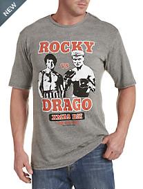 Retro Brand Rocky vs Drago Graphic Tee