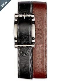 Robert Graham® Cedar Big Buckle Reversible Leather Belt