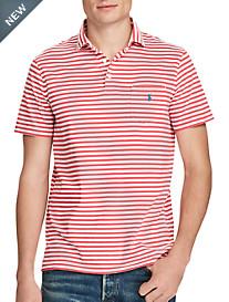 Polo Ralph Lauren® Stripe Cotton Jersey Polo