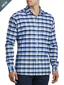 Psycho Bunny® Plaid Flannel Shirt
