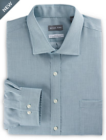 Michael Kors® Non-Iron Textured Solid Dress Shirt