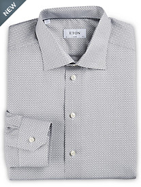 Eton® Circle Geometric Print Dress Shirt