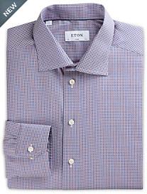 Eton® Diamond Geometric Dobby Dress Shirt