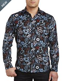 Jared Lang Fruit Print Sport Shirt