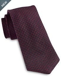 Jack Victor® Textured Houndstooth Silk Tie