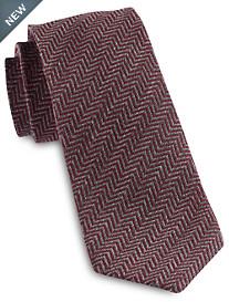 Jack Victor® Textured Chevron Silk Tie