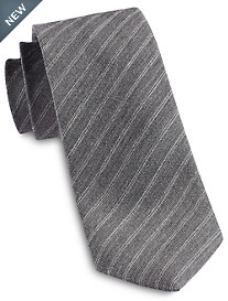 Jack Victor® Heathered Thin Stripe Silk Tie