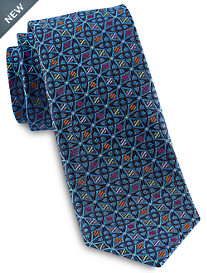 Robert Talbott Best of Class Repeating Geo Medallion Silk Tie