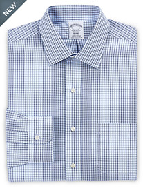 Brooks Brothers® Non-Iron Double Windowpane Check Dress Shirt