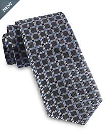 Rochester Medium Grid Silk Tie